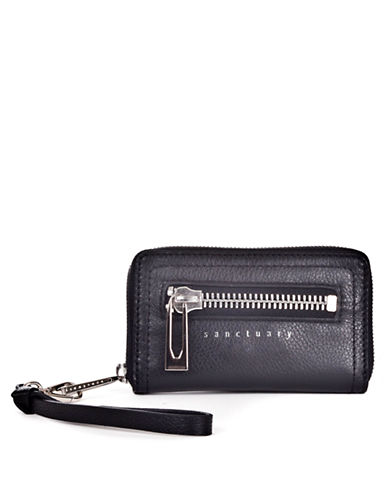 SANCTUARY Hero Leather Small Wallet