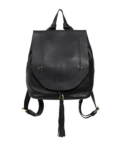 sanctuary female leather backpack