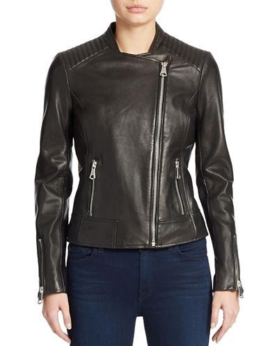MARC NEW YORK ANDREW MARCLeather Moto Jacket