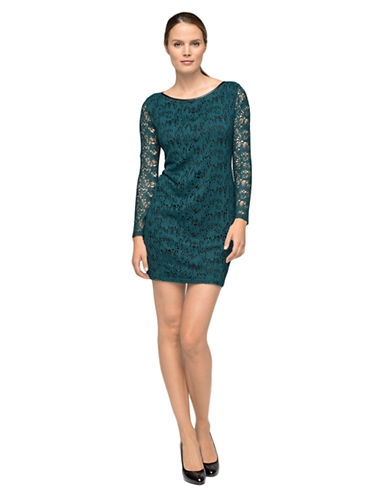 MARC NEW YORK ANDREW MARCLace Shift Dress