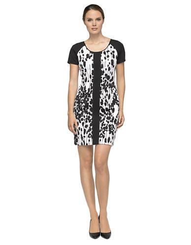 MARC NEW YORK ANDREW MARCDot Print Shift Dress