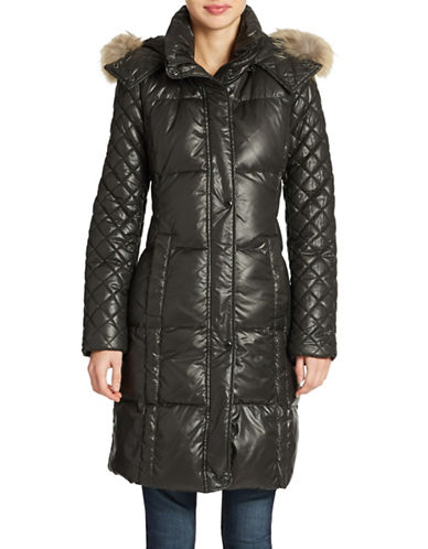 MARC NEW YORK ANDREW MARCFur-Trimmed Down-Filled Puffer Coat