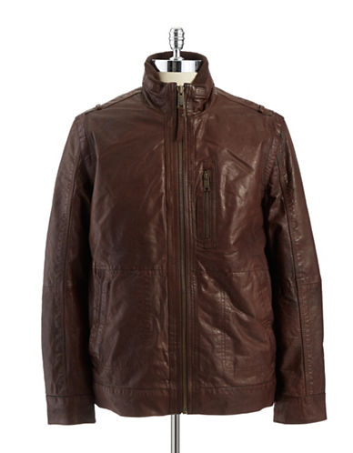 ANDREW MARCVandam Leather Jacket
