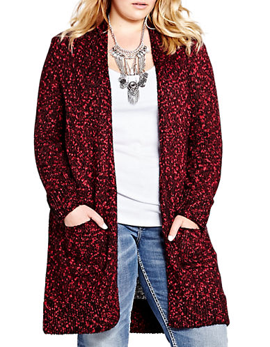 ADDITION ELLE LOVE AND LEGEND L and L Long Sleeved Cardigan