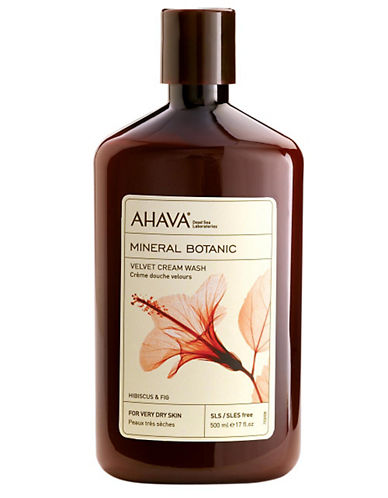 AHAVA Mineral Botanic Hibiscus and Fig Velvet Cream Wash 17oz