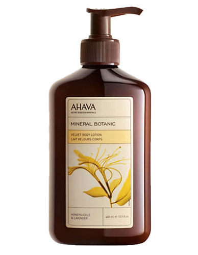 AHAVA Mineral Botanic Honeysuckle and Lavender Body Lotion