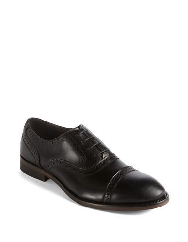 JOHN VARVATOS U.S.A.Dearborn Cap-Toe Leather Oxfords