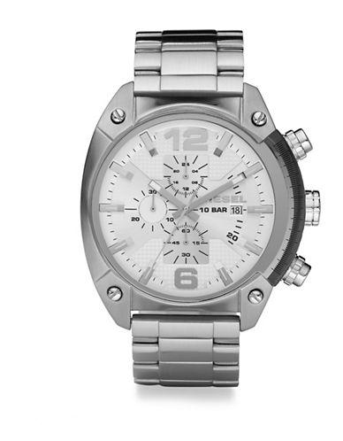 Stainless Steel Overflow Bracelet Watch