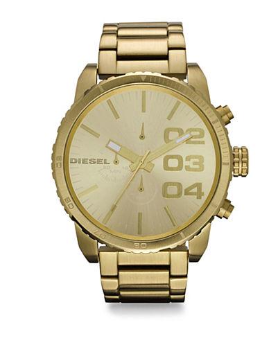 Stainless Steel Double Down Bracelet Watch