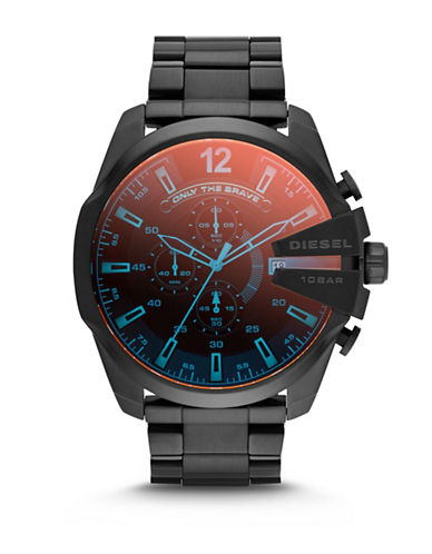 Stainless Steel Mega Chief Mineral Dial Bracelet Watch