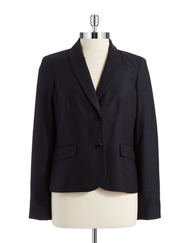 CALVIN KLEINPinstriped Suit Jacket