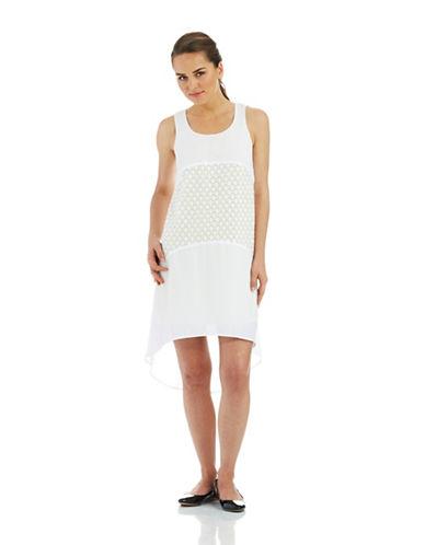 KENSIEHi Lo Embroidered Dress