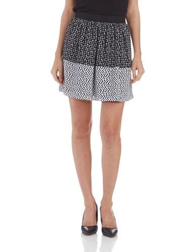 KENSIEPatterned Skater Skirt