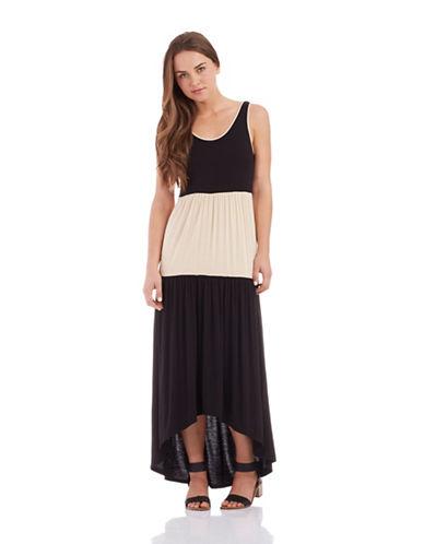 KENSIEColorblock Maxi Dress