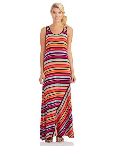 KENSIEStriped Maxi Dress