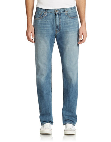 Lucky Brand Relaxed Straight Leg Jeans
