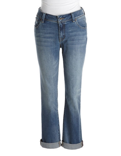 Lucky Brand Plus Plus Georgia Relaxed Straight-Leg Jeans