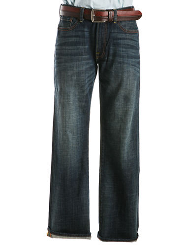 Lucky Brand 361 Vintage Straight Jeans in Dark Wash