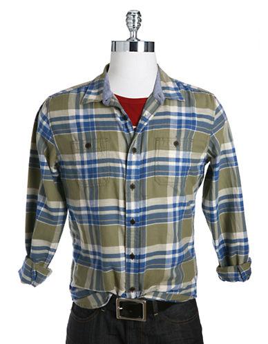 LUCKY BRANDGunnar Plaid Pocket Sport Shirt