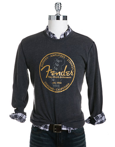 LUCKY BRAND Fender Circle Graphic T-Shirt