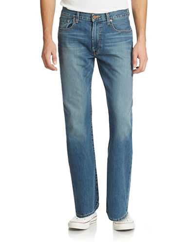 LUCKY BRAND 181 Relaxed Straight-Leg Jeans