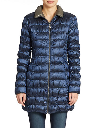LAUNDRY BY SHELLI SEGAL Packable Down Coat