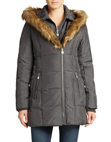 BETSEY JOHNSONHooded Puffer Coat