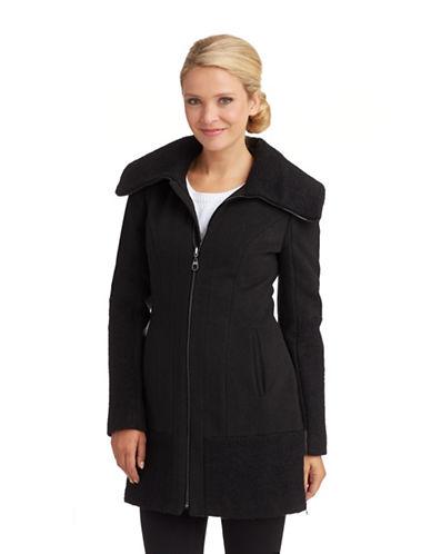 LAUNDRY BY SHELLI SEGALOversized Collared Coat