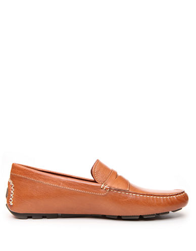 DONALD J. PLINER Vini Leather Driving Moccasins