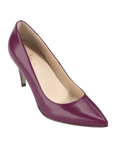 COLE HAAN Juliana Leather Pumps