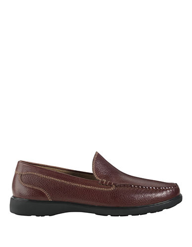 COLE HAAN Sutton Place Venetian Leather Loafers