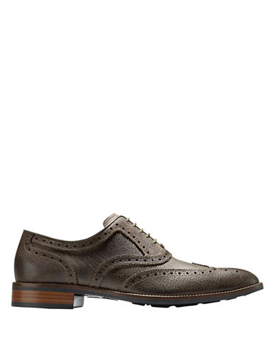 COLE HAAN Lenox Hill Leather CSUL Wingtip Oxfords