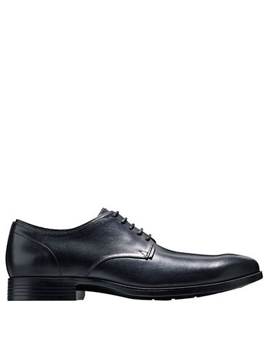 COLE HAAN Copley Leather Plain Derby Oxfords