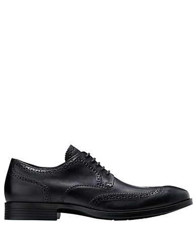COLE HAAN Copley Leather Wingtip Derby Oxfords