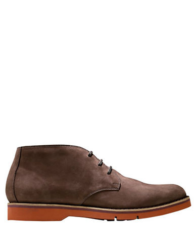 COLE HAAN Great Jones Leather XL Chukka Boots