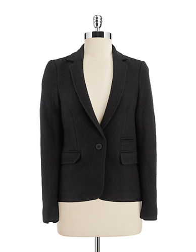 LORD & TAYLORBoucle and Stretch Knit Jacket