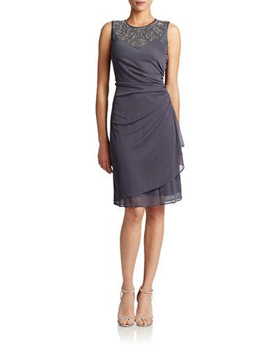 CACHETBeaded Cocktail Dress