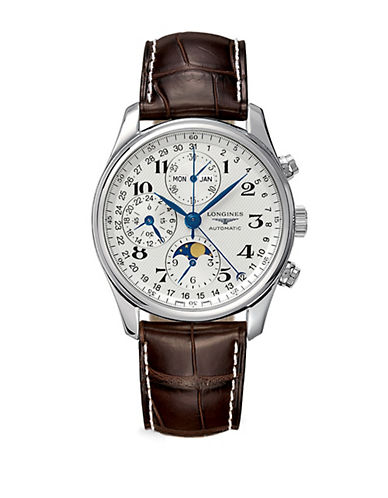 LONGINESMen's Master Collection Automatic Moon Phase Chronograph Watch
