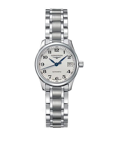 LONGINESLadies Master Collection Stainless Steel Bracelet Watch