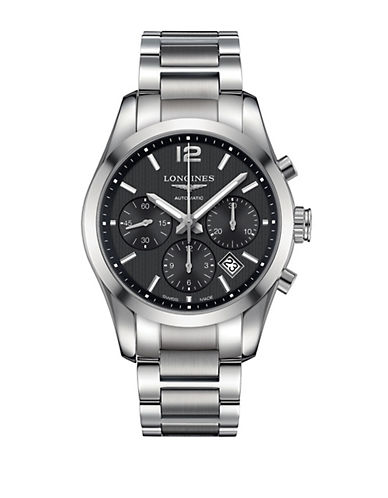 LONGINES Mens Conquest Classic Chronograph Watch