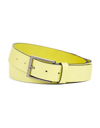 HUGO BOSSEmbossed Leather Belt