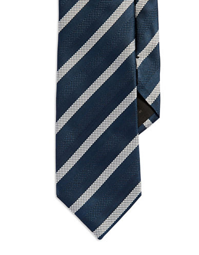 HUGO BOSS Double Striped Silk Tie