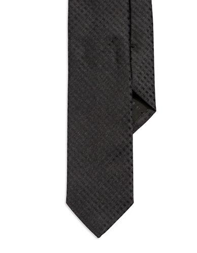 HUGO BOSSGrid Patterned Silk Tie