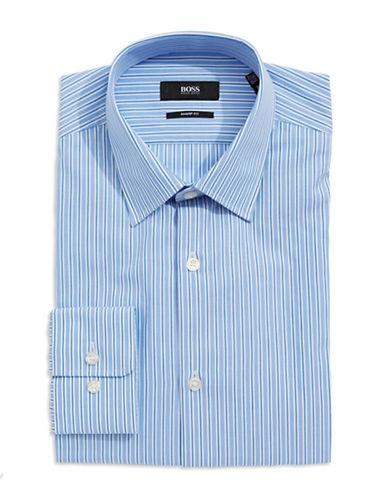 HUGO BOSSSharp-Fit Striped Dress Shirt
