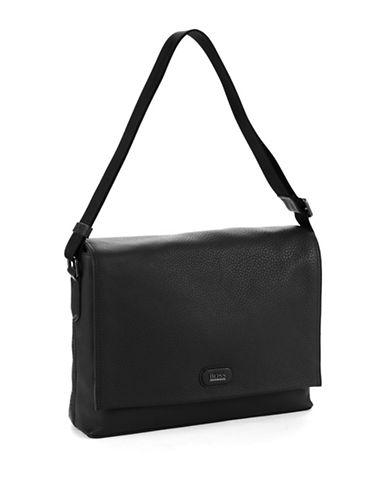 HUGO BOSSLeather Messenger Bag