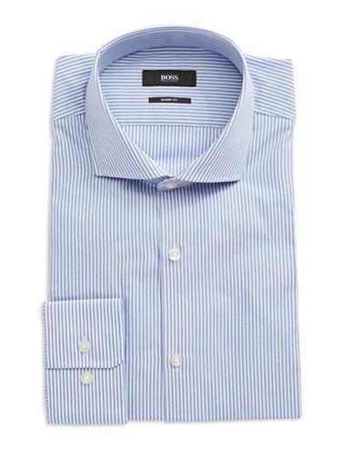 HUGO BOSSStriped Cotton Dress Shirt