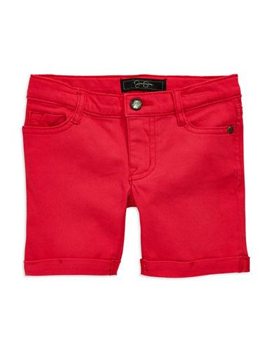JESSICA SIMPSONGirls 2-6x Rolled-Cuff Shorts