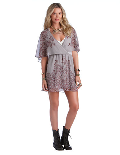 FREE PEOPLESparks Fly Cape Dress