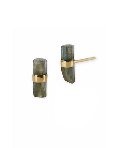 LORD & TAYLORLabradorite and Sterling Silver Stud Earrings