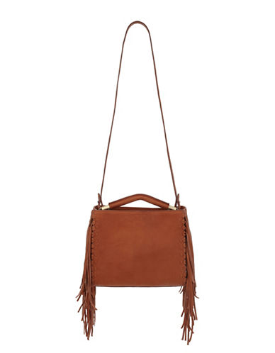 sam edelman female zoey leather shoulder bag